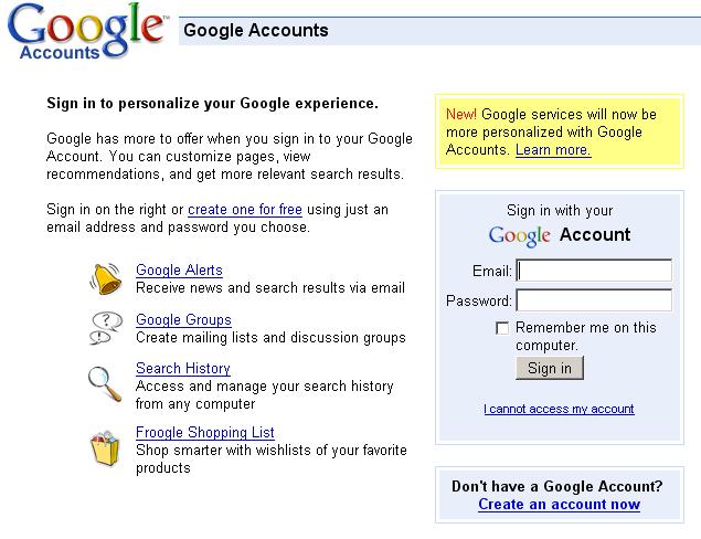 ... aan Google Apps (GMail, Google Page Creator) [je-eigen-domein.nl wiki