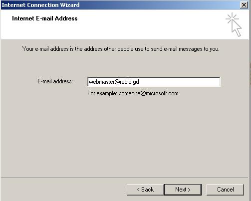 eigen email domein maken